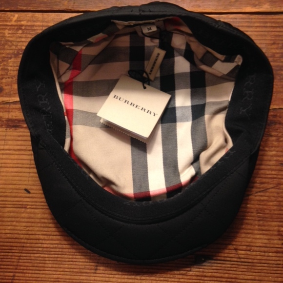 d2534110130 Burberry jasmine quilted combination flat cap